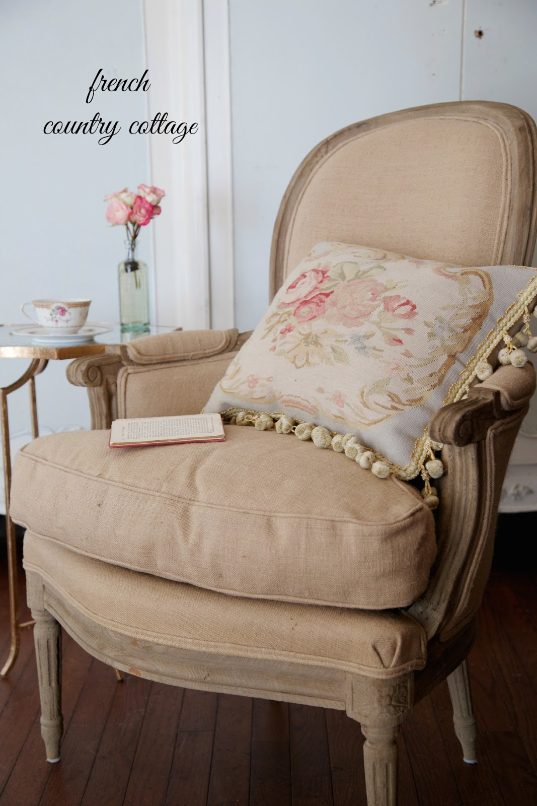 A new French chair - French Country Cottage