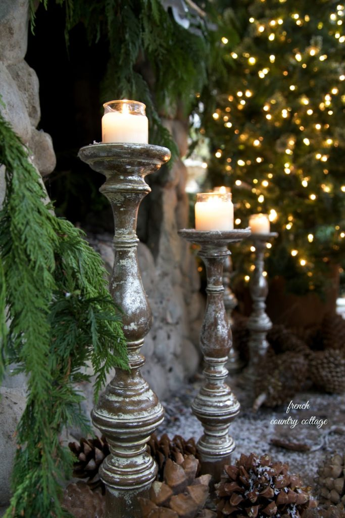 French Country Cottage Christmas ~ Home Tour - French ...