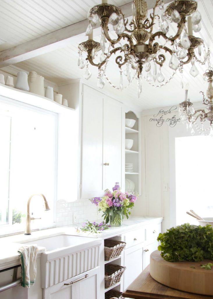 farmhouse sink, french, kitchen