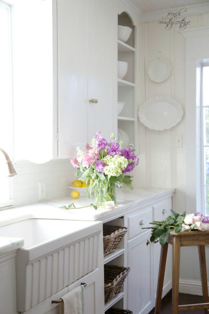 farmhouse sink, french, kitchen