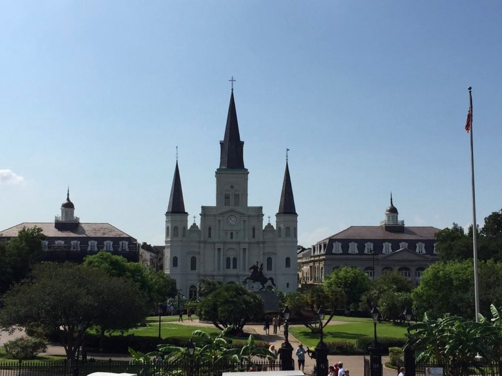 St. Louis Cathedral New Orleans French Quarter