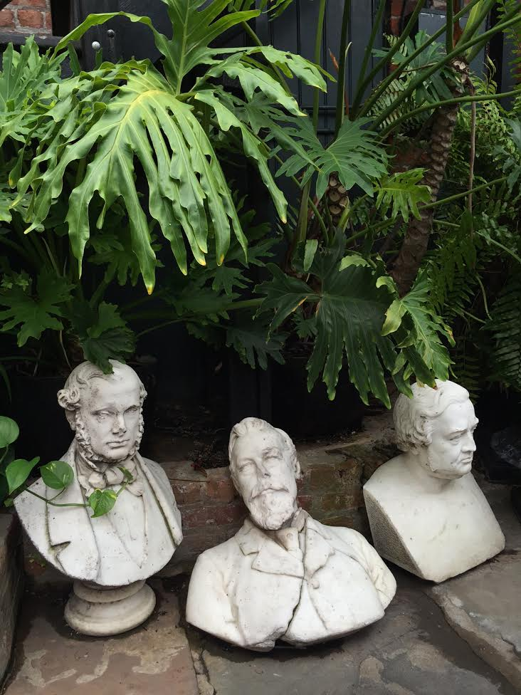 Statues found in New Orleans French Quarter