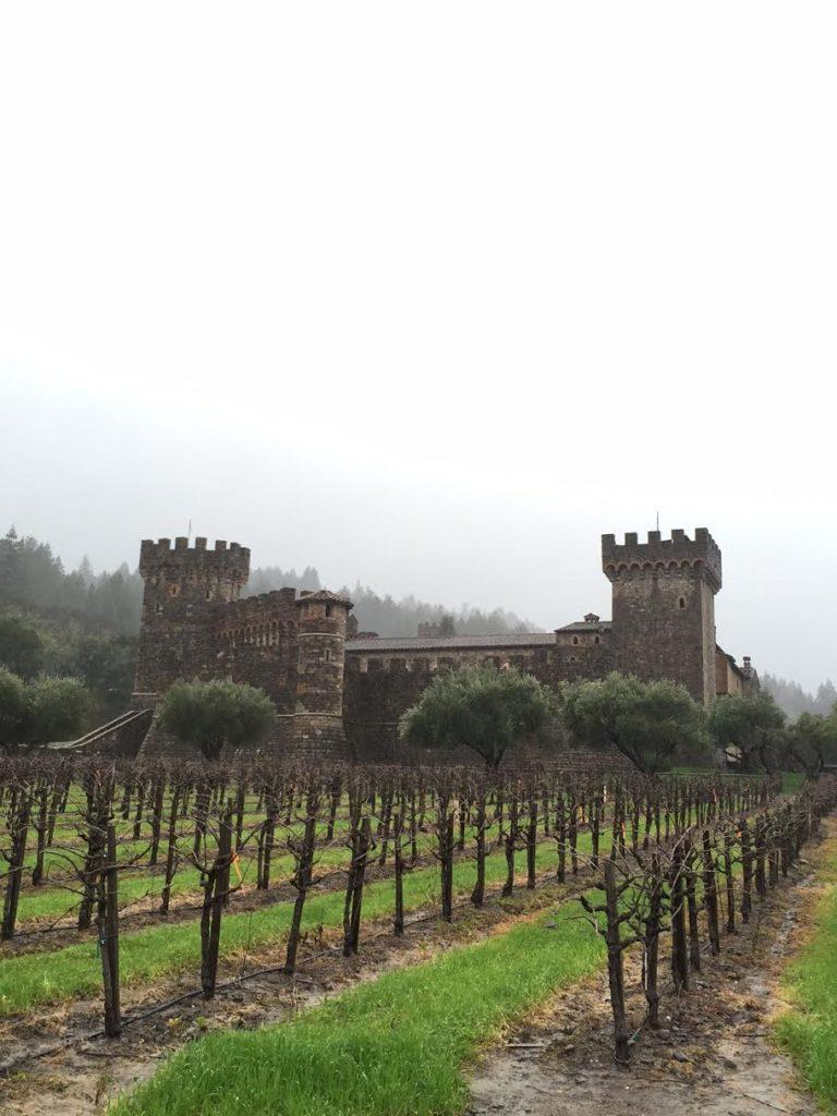castle winery in Calistoga