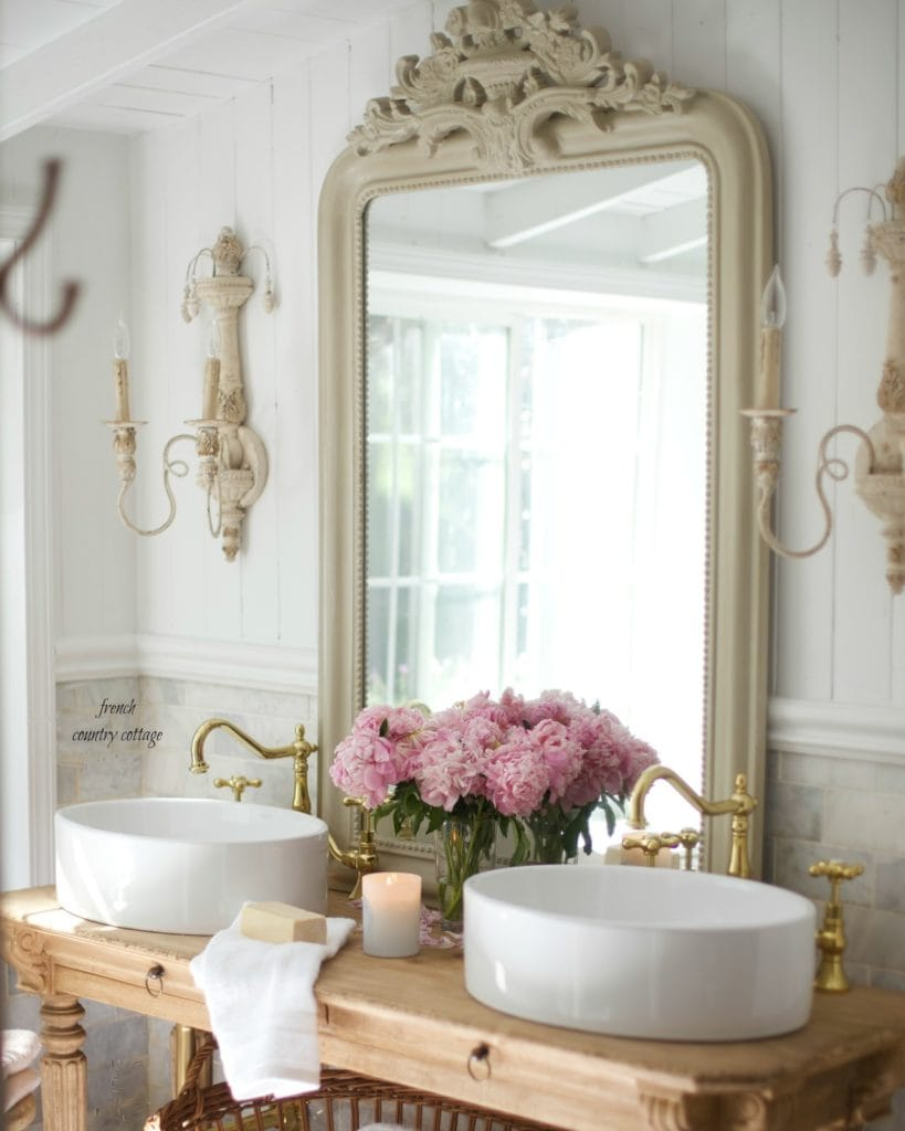 marble and vessel sinks