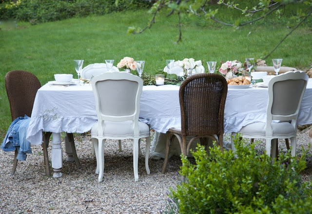 8 Patio Summer Styling Ideas French Country Cottage