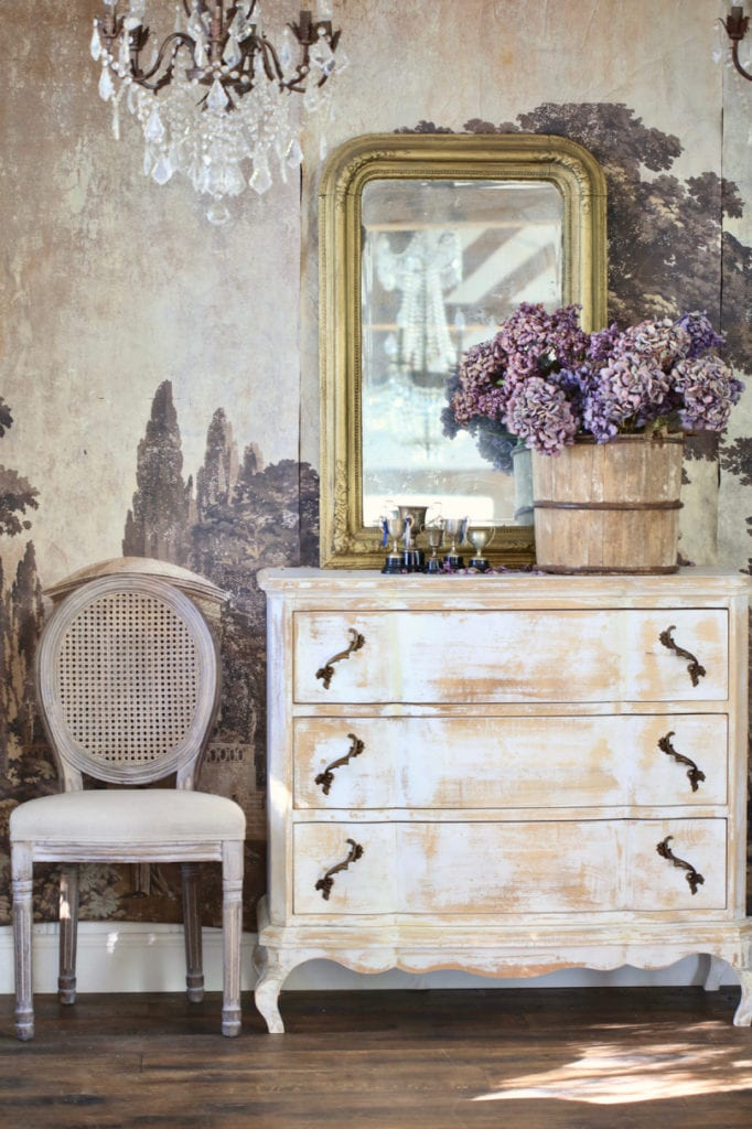 vintage inspired furniture painted