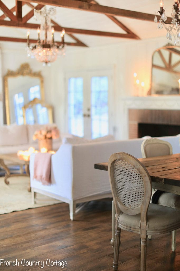 Fresh Warm Winter Living Room Refresh First Look French Country Cottage,Disney Christmas Outdoor Decorations