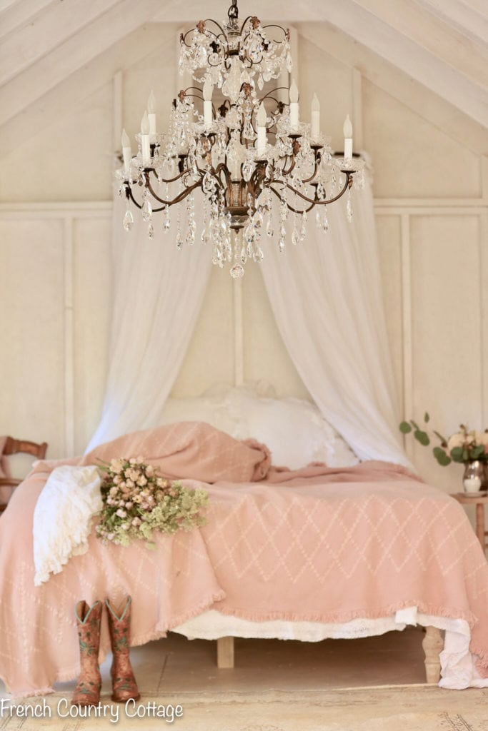 A Romantic Inspired Bedroom French Country Cottage
