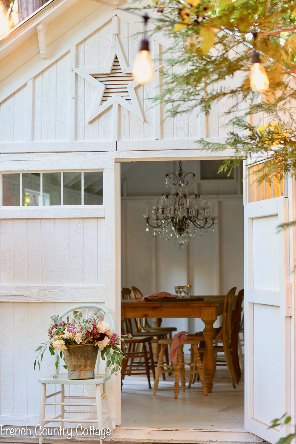 Q A Building The Barn French Country Cottage