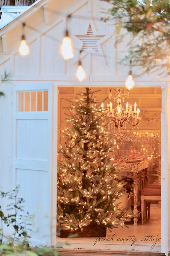 8 Ideas For Unique Tree Stands French Country Cottage
