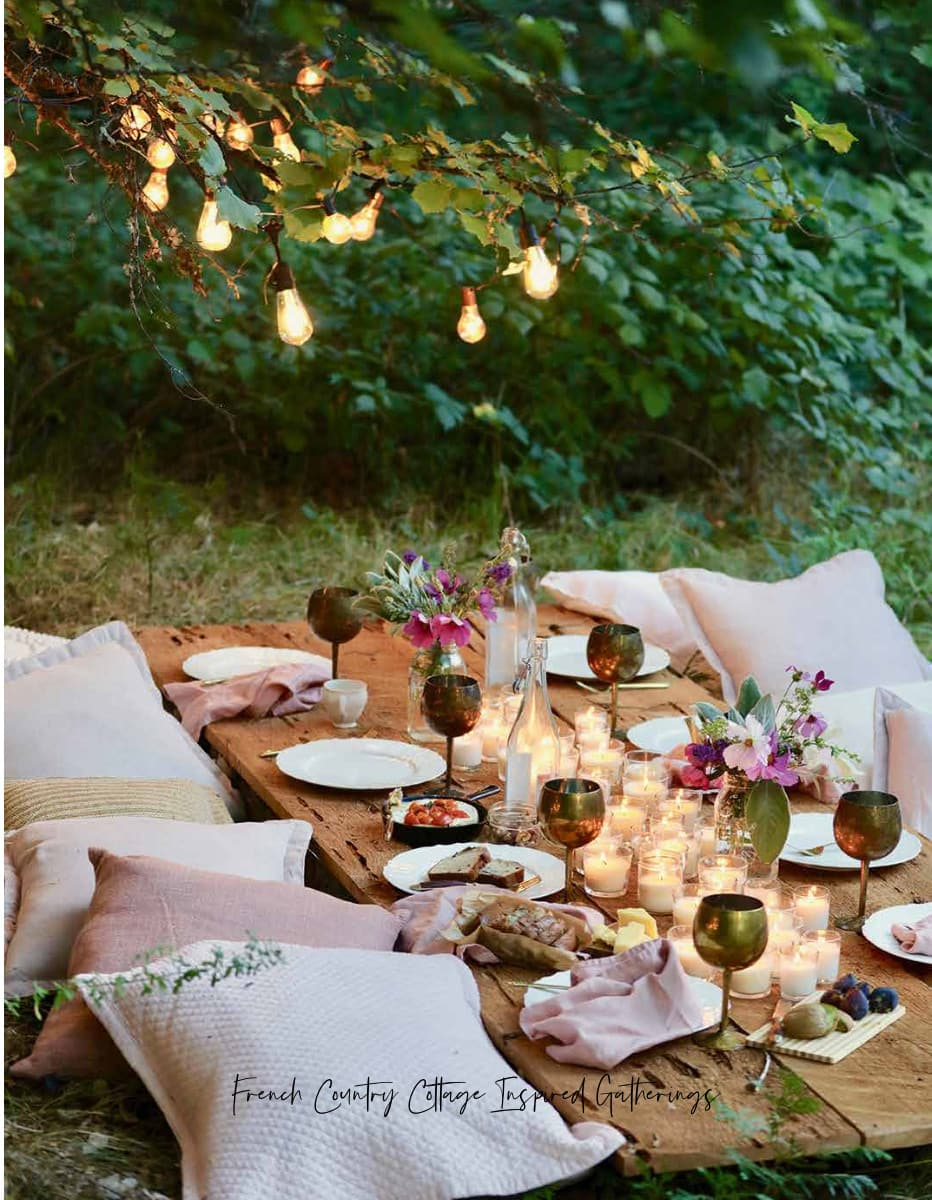Bohemian Table French Country Cottage Inspired Gatherings