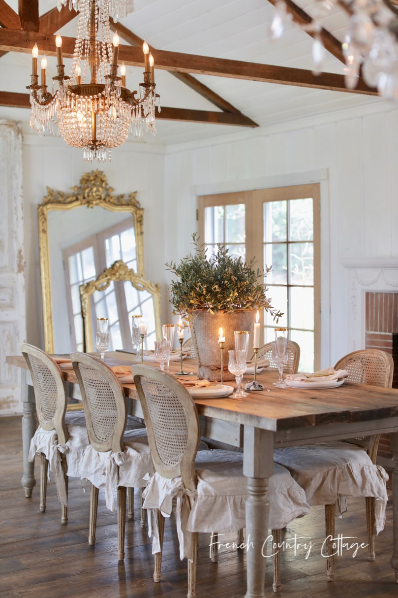 20 Minute Decorating Simple Spring At Home Table Centerpiece Ideas French Country Cottage
