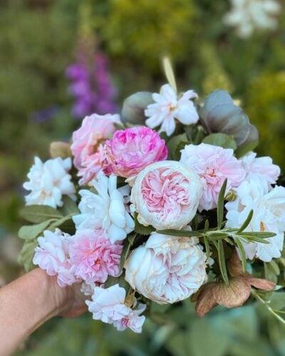 Garden picked bouquet