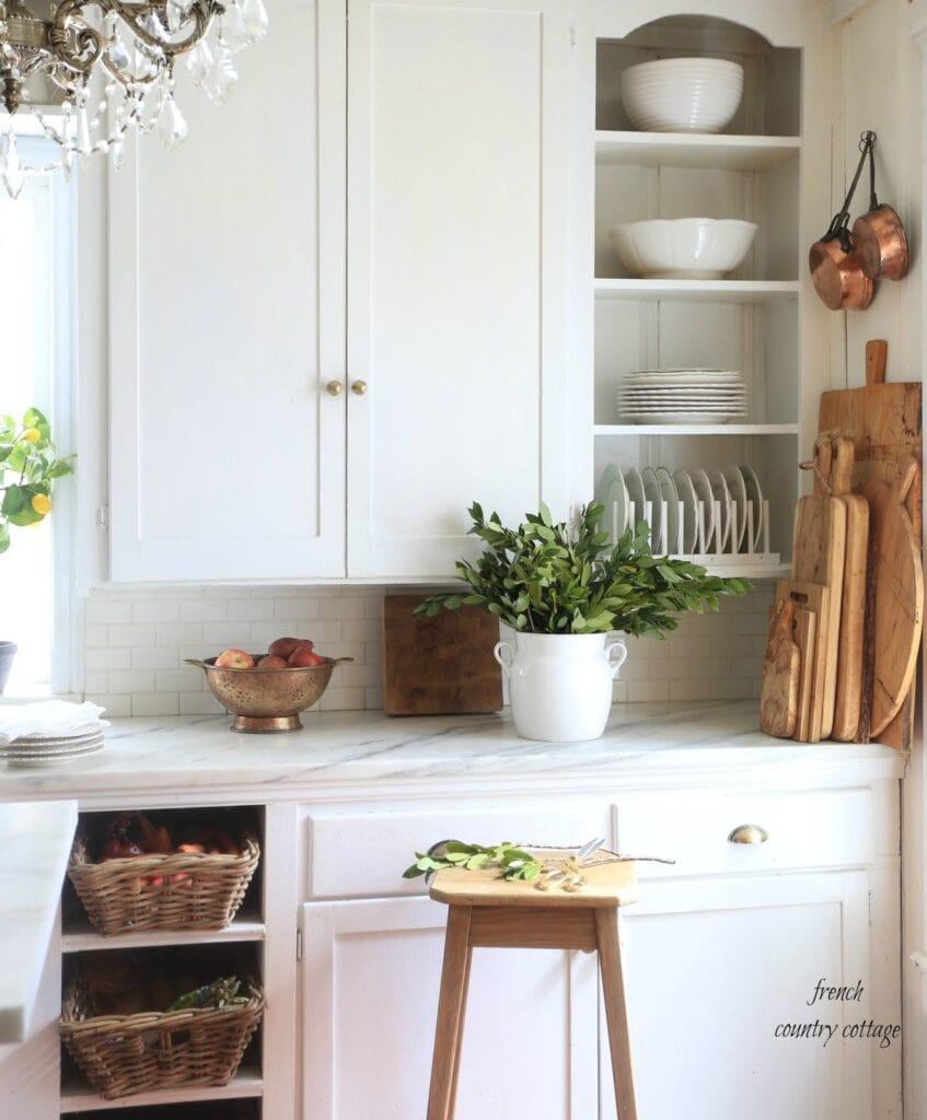 Vintage Kitchen with Breadboards