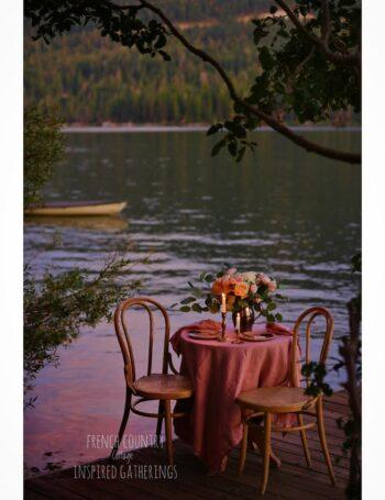 Lake dinner