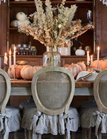 Autumn Dining Room French Country Cottage