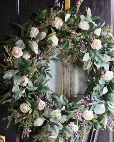 French Country Cottage Marseille Meadow Wreath