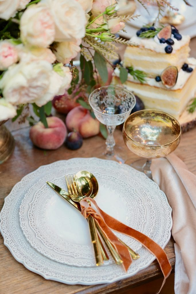 French Country Cottage Inspired Gatherings Table