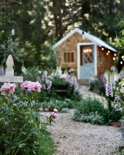 French Country Cottage Potting Shed